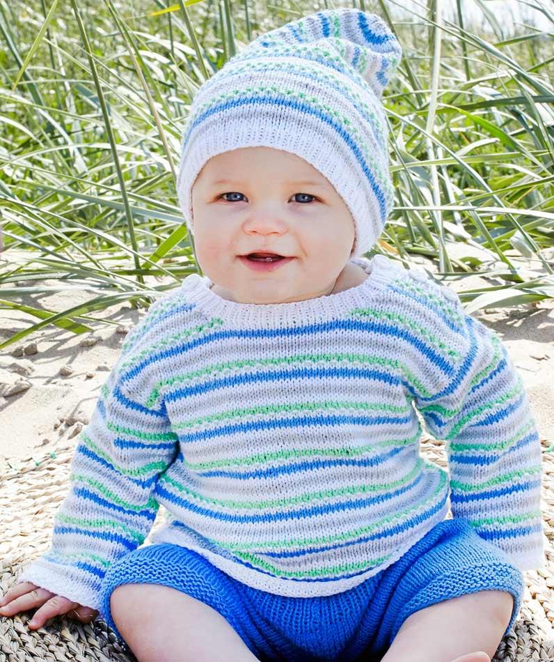 Vauvan myssy ja pusero