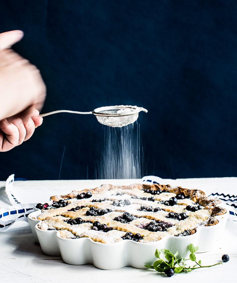 mustikkapiirakka. gluteeniton, mustikkapiiras, makea piiras, gluteeniton leivonta, parhaat gluteenittomat herkut, gluteenittomat herkut, keliakia