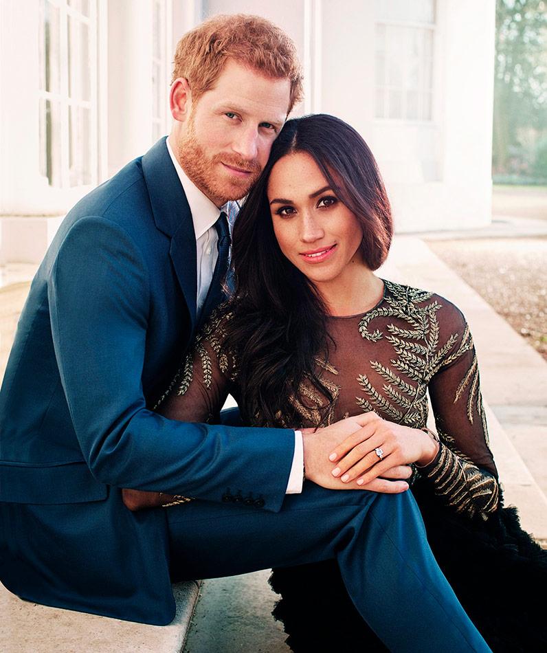 Harry ja Meghan, kihlaus