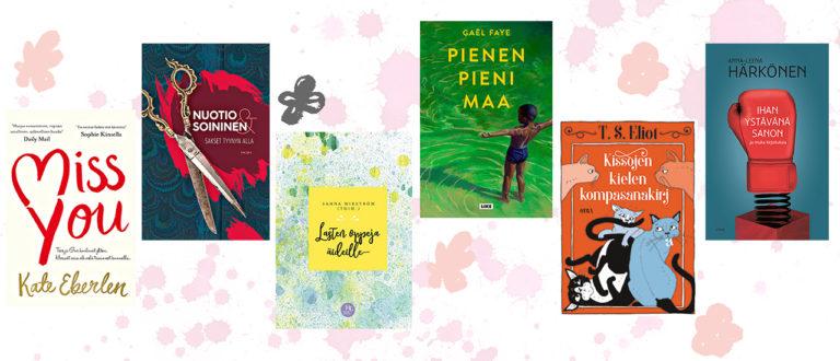 kirjalahja, äitienpäivälahja, kirja äidille, lukemista äidille, äiti, kirja, 6 parasta kirjaa äitienpäivälahjaksi, parasta kirjaa äitienpäivälahjaksi