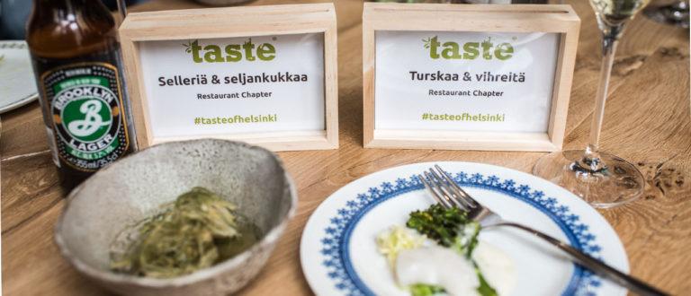 Taste of Helsingin makuja.