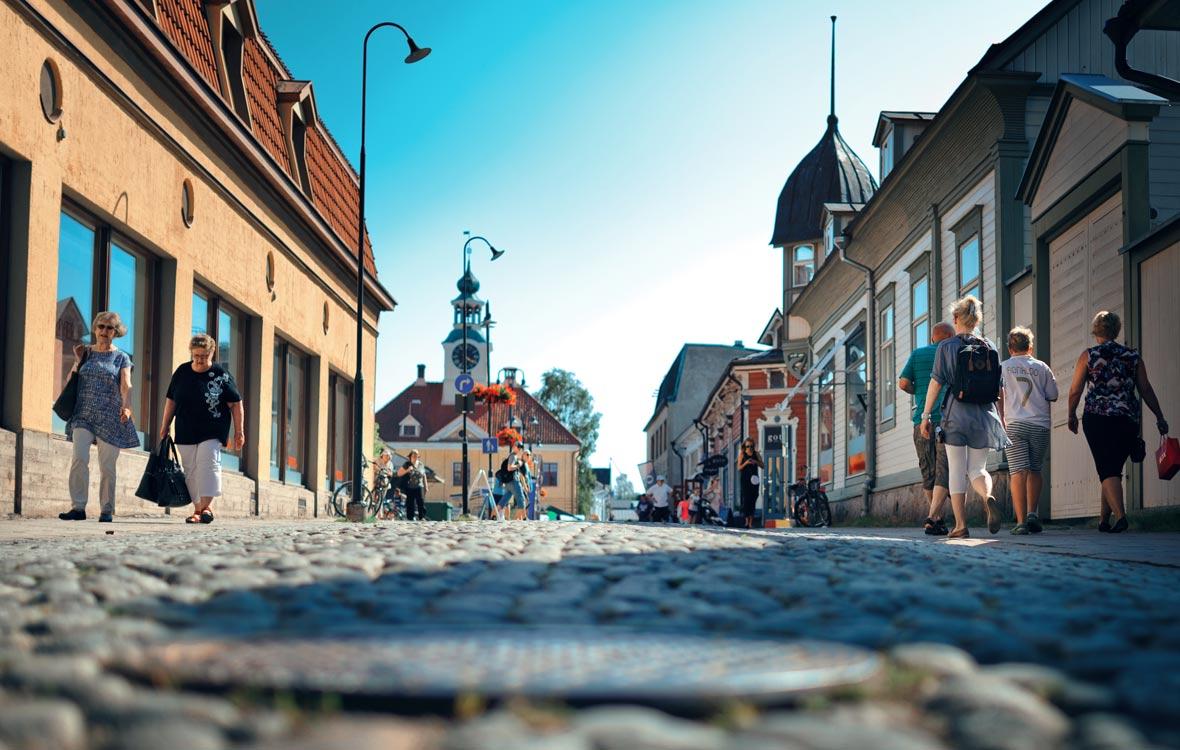 Vanha Rauma on Unescon maailmanperintökohteet -luettelossa.