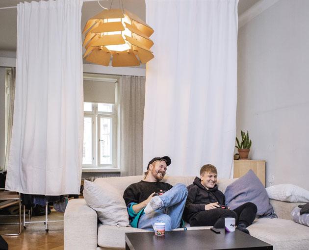 Sonny Kylä-Liuhala ja Antero Kantonen.