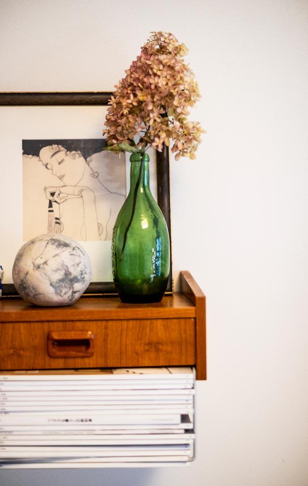 Floristin koulutuksen saaneen maijan kodissa kasveilla kaikissa muodoissaan on tärkeä rooli.