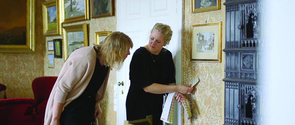 Maria Horgen ja Valokuvaaja ja trendiasiantuntija Jorunn Tharaldsen ja sisustusarkkitehti Maria Horgen toteuttivat yhteistyössä Canonin kanssa uuden upean tapettimalliston.