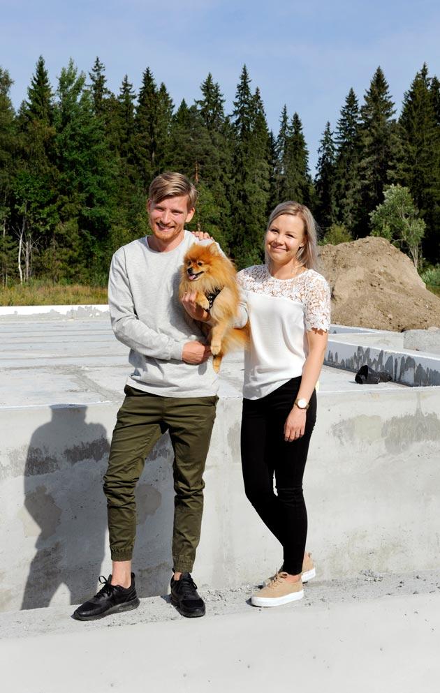 Elmon ja Kiiran asuntomessuprojekti on alkanut jo kaksi vuotta sitten.