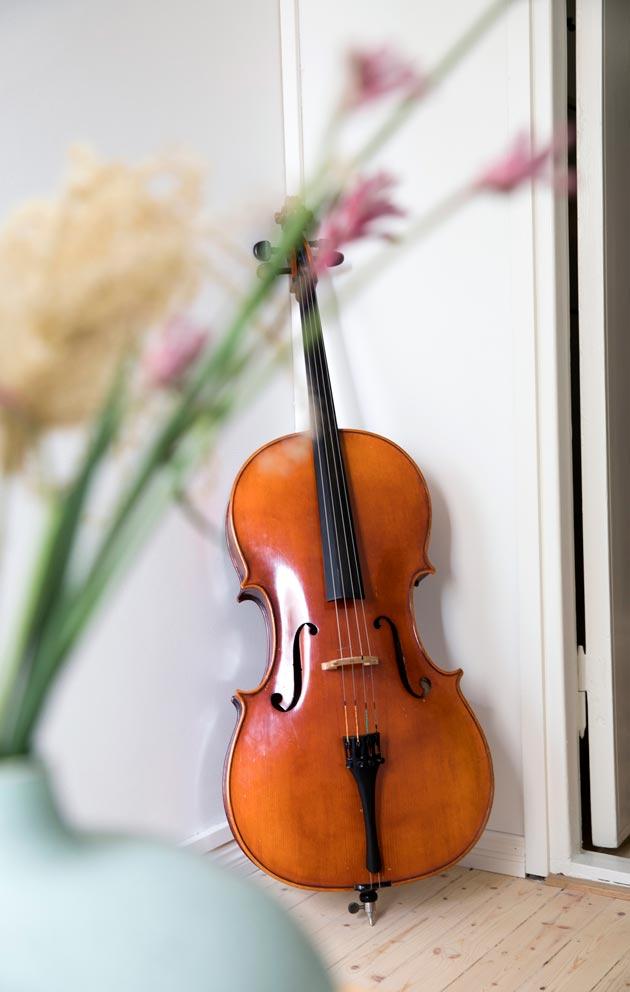 Larissa rakastaa klassista musiikkia. Vuosi sitten hän aloitti sellon soiton.