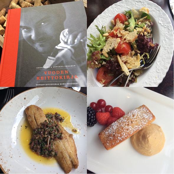 Myös Henri Alénilta ilmestyi uusi keittokirja