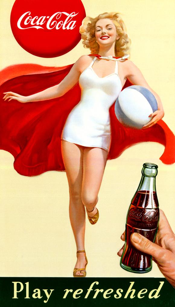 Coca-cola-pullo tunnetaan kurveistaan, kuva: Coca-Cola Finland Oy