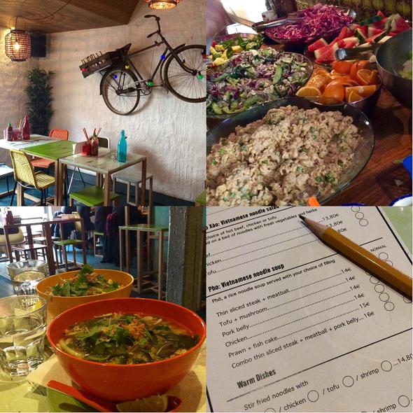 Lie Mi -ravintolassa pho-keittoa voi nauttia vaikka lounaaksi