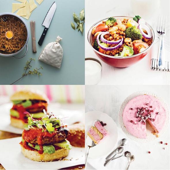Sydänruokaa-kirjan herkullisia ja terveellisiä ruokia