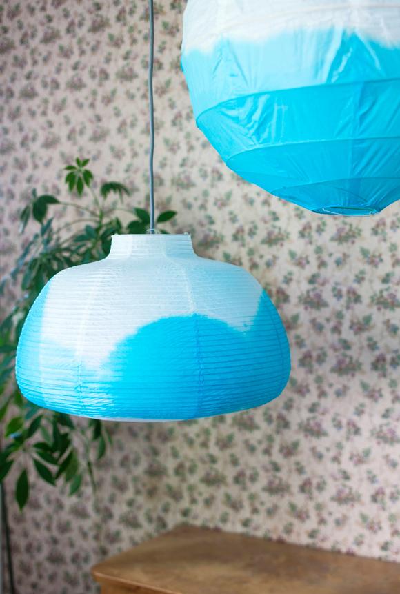 Kuva - Tuunaa lamppu värjäämällä