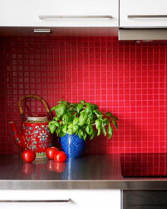 Kuva - Uusi ilme keittiön välitilaan