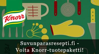 Voita Knorr-tuotepaketti!