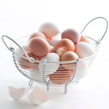 Kananmunan keittäminen – munat korissa