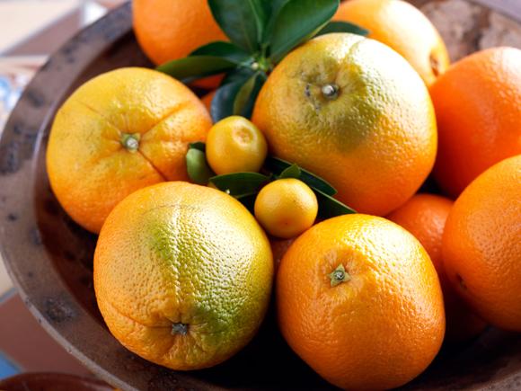 Hoida stressiä syömällä appelsiineja.