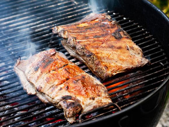 Kuva - Epäsuora grillaus sopii suurille lihapaloille