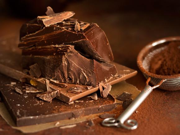 Kuva - Suklaan käsittely