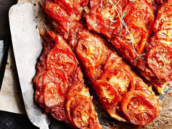 Suolainen piirakka – mehevä tomaattipiirakka
