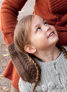 Kuva - Neuleohje: Lapaset naiselle