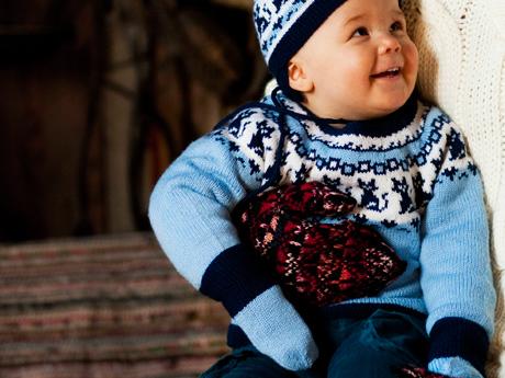 Kuva - Neuleohje: Vauvan lapaset