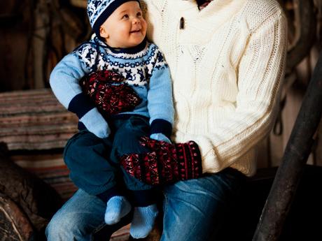 Kuva - Neuleohje: Vauvan villasukat