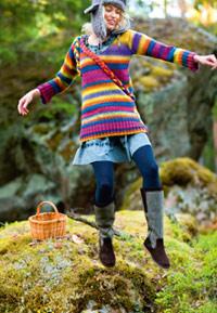 Kuva - Lapin tyttö -pusero