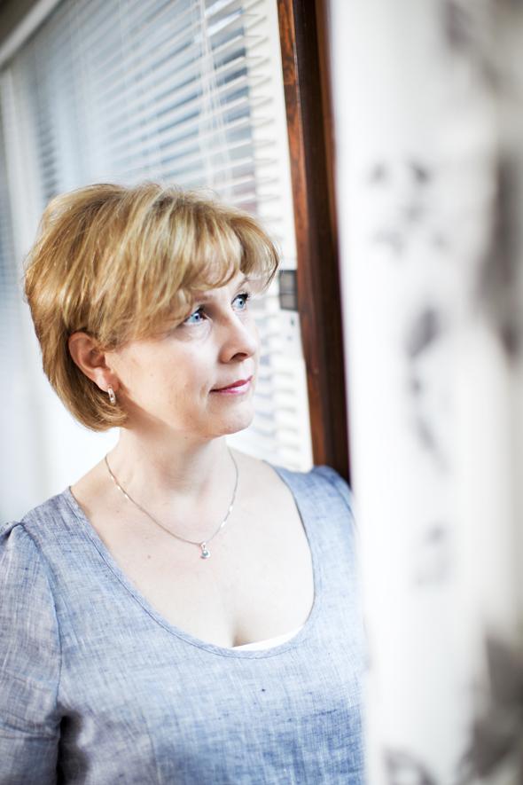 Avioeron läpikäynyt Hanni Angelaho, kuva: Pekka Holmström, copyright: Otavamedia