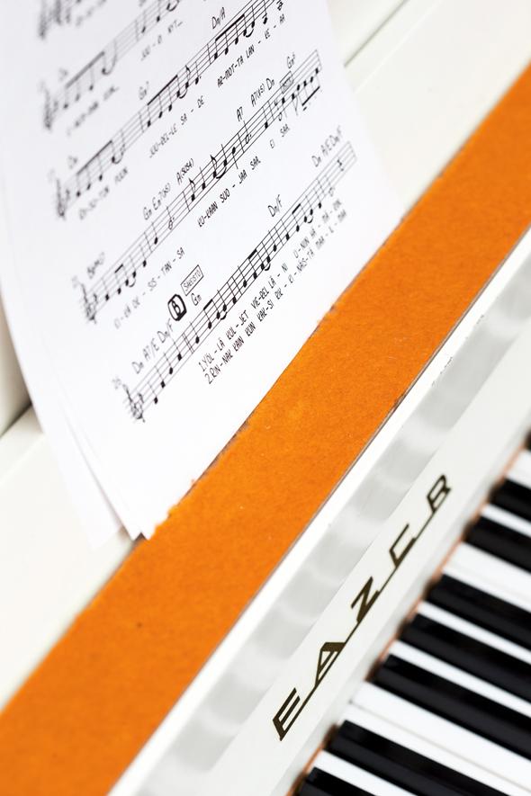Musiikki toimi terapiana Hanni Angelaholle, kuva: Pekka Holmström, copyright: Otavamedia