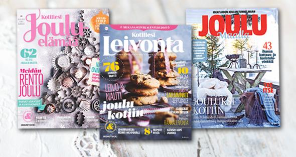 joulu maalla 2018 lehti Odotetaan joulua yhdessä!   Kotiliesi.fi joulu maalla 2018 lehti