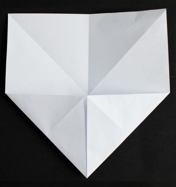 Näin taittelet paperitähden
