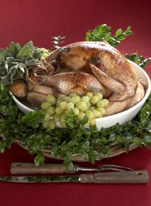 Kuva - Kalkkunaa joulupöytään