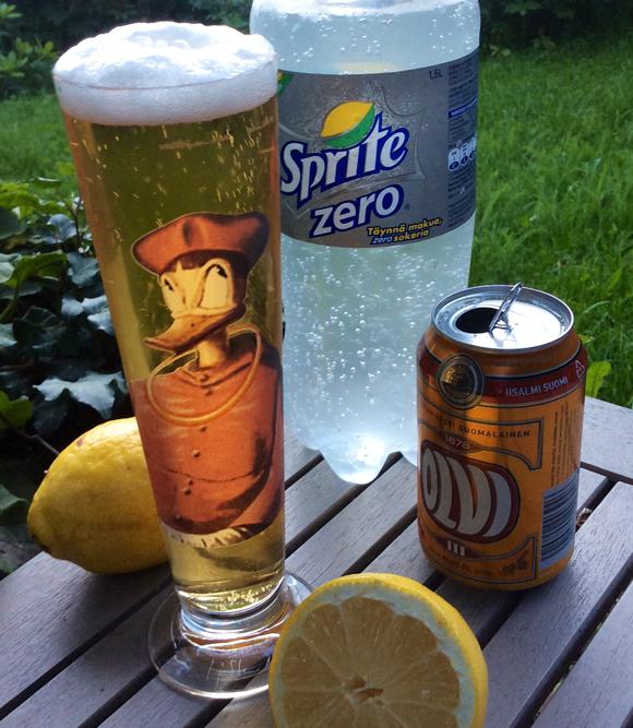 Himahella olutdrinksut