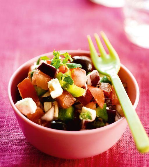 Kuva - Kreikkalaiset salaattimaljat