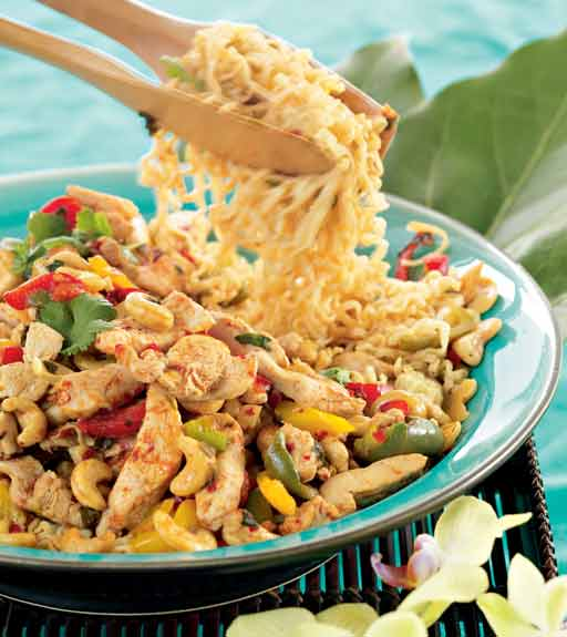 pähkinäbroileria thaimaalaisittain