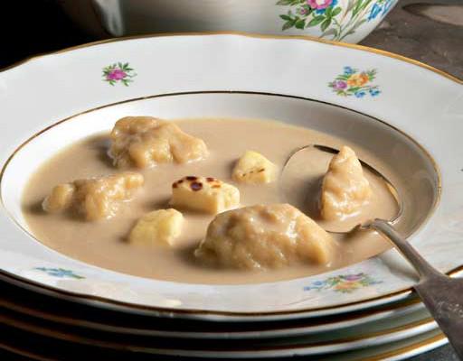 Koskenkorvan klimppisoppa