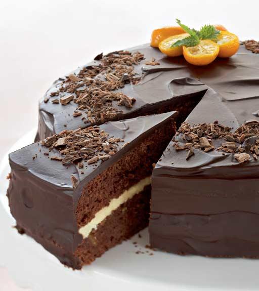 Kuva - Suklainen appelsiinikakku