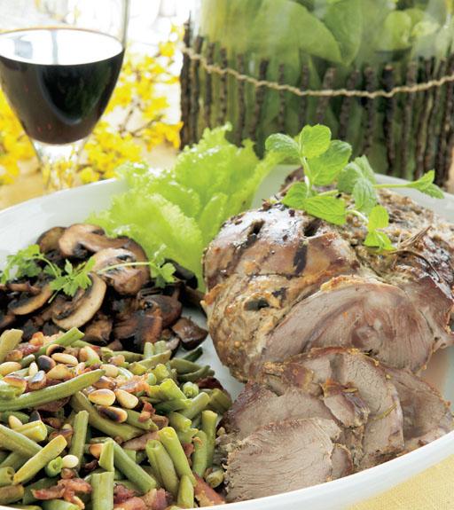 Pääsiäislammas: Kreikkalainen lammaspaisti