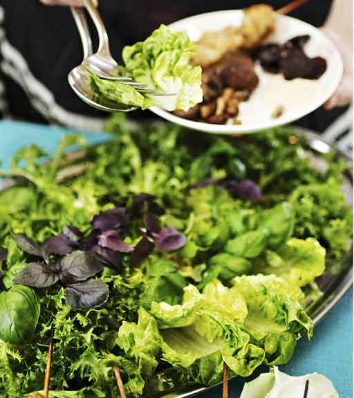 Kuva - Vihreä salaatti