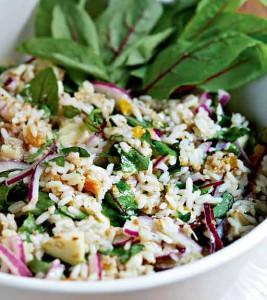 ruis-riisisalaatti