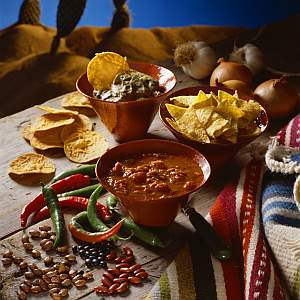 Texasilainen Cowboy San Antonio Chili
