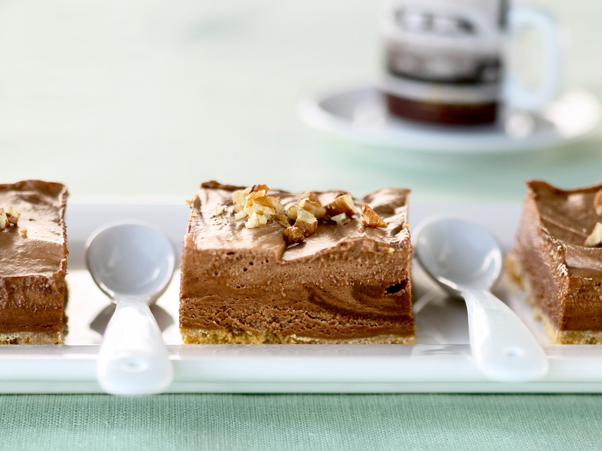 suklaakakku – jäädytetty suklaajuustokakku