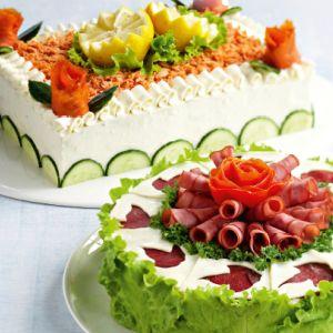 Lohi-voileipäkakku