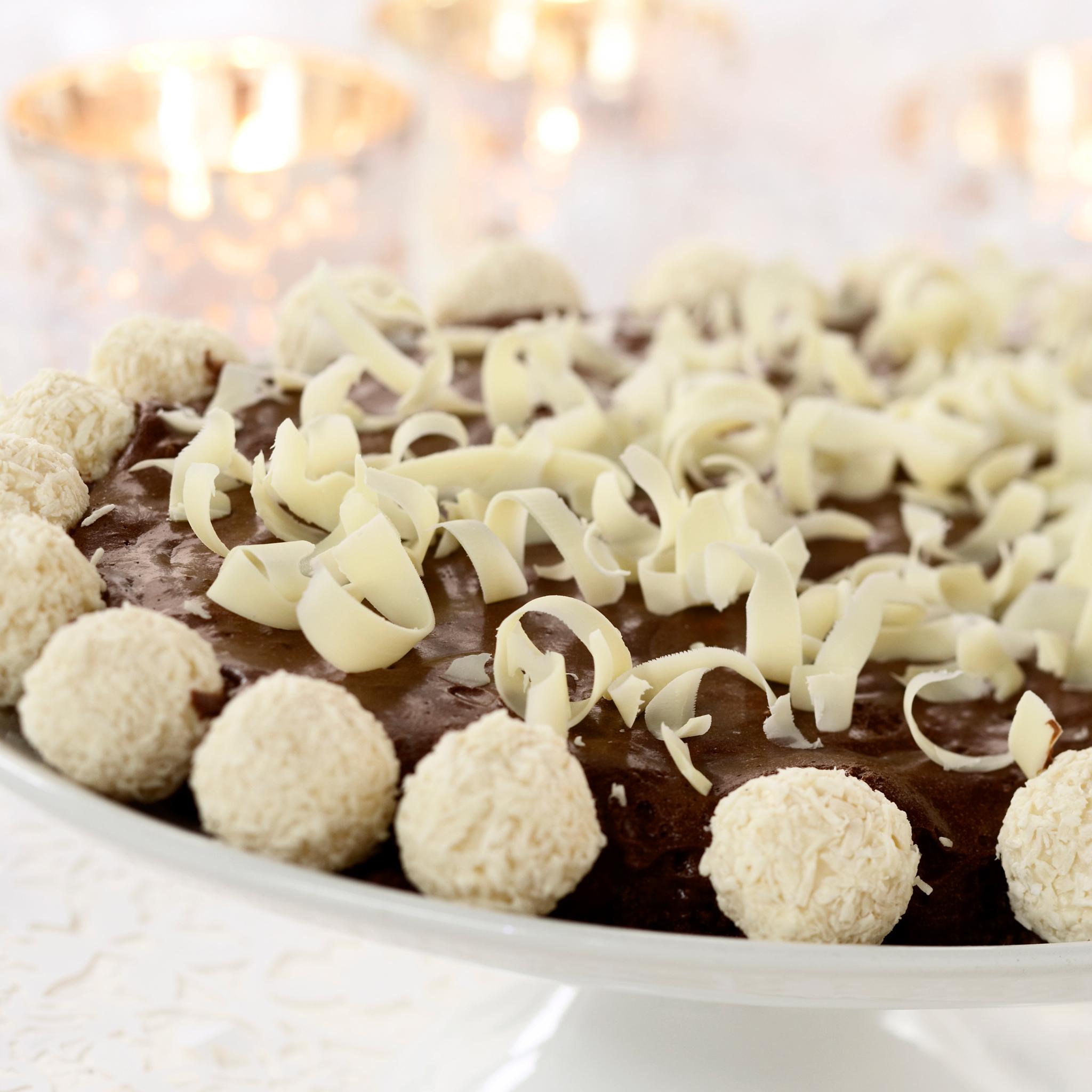 Italialainen suklaakakku (Torta di Cioccolato)