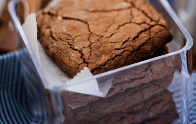 Kahden suklaan keksit