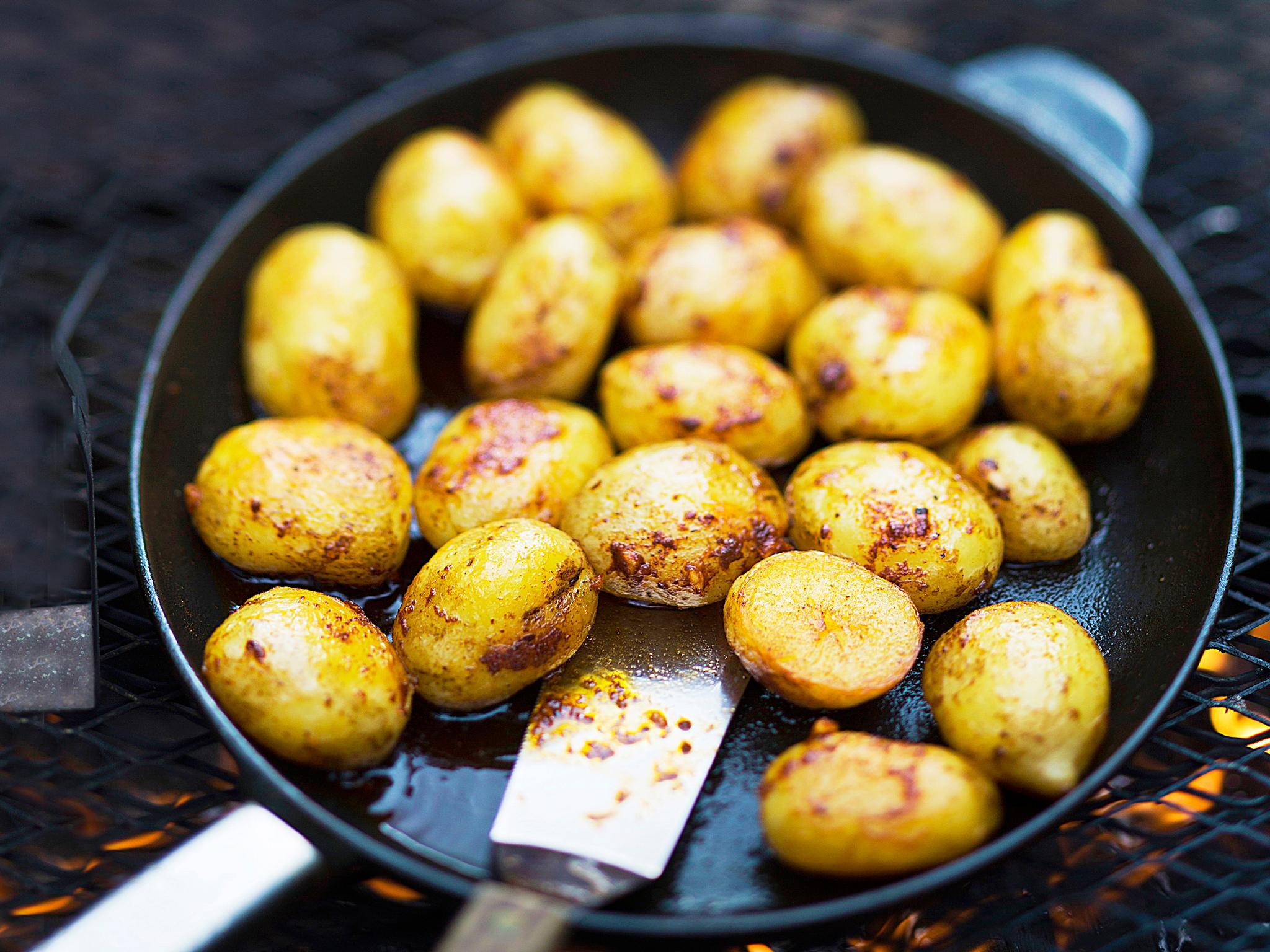 BBQ-perunat eli griliperunat