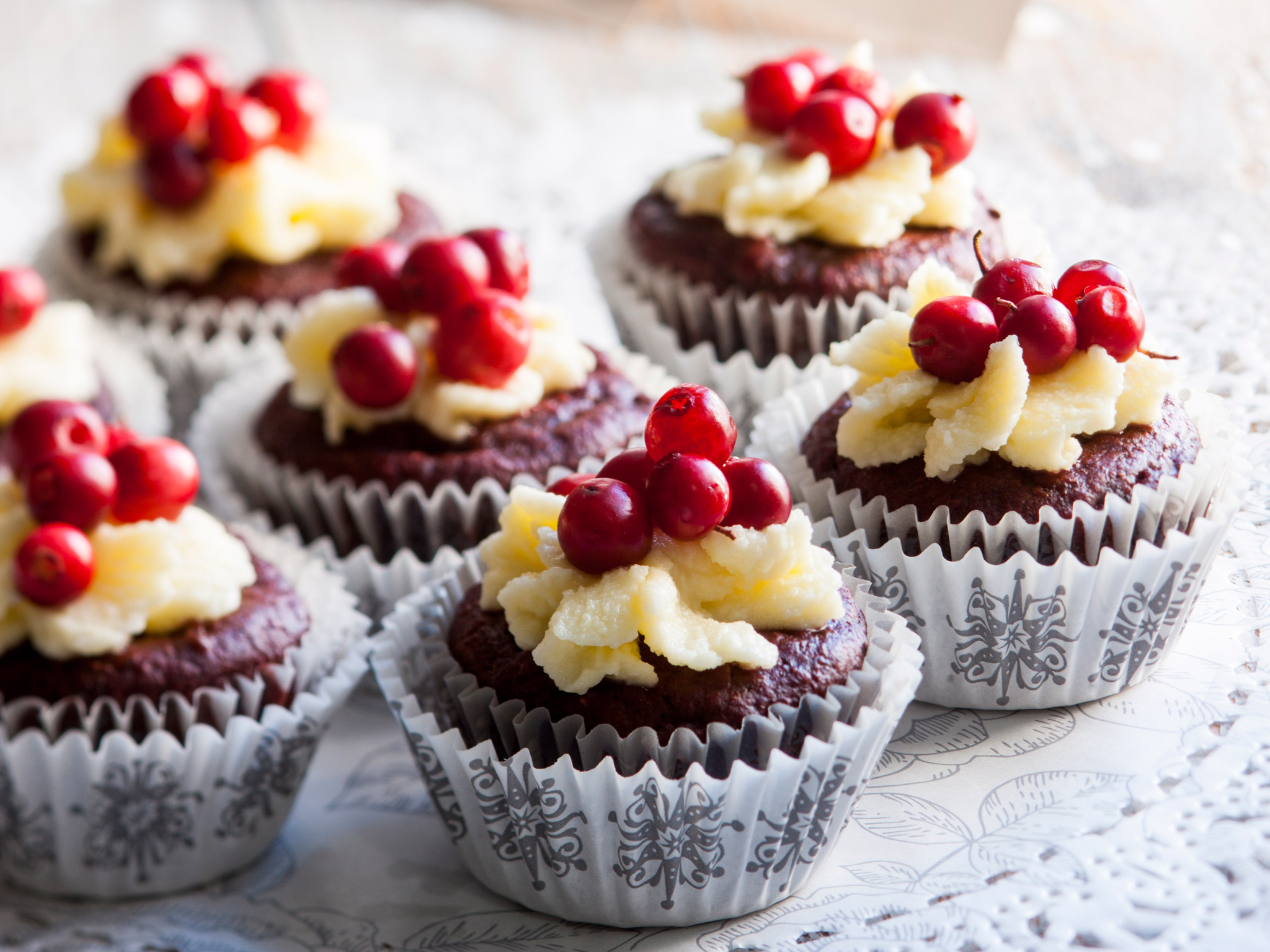 Gluteenittomat suklaamuffinit
