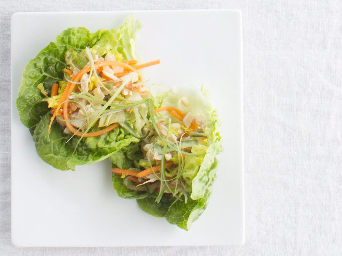 korealaiset salaattikääröt