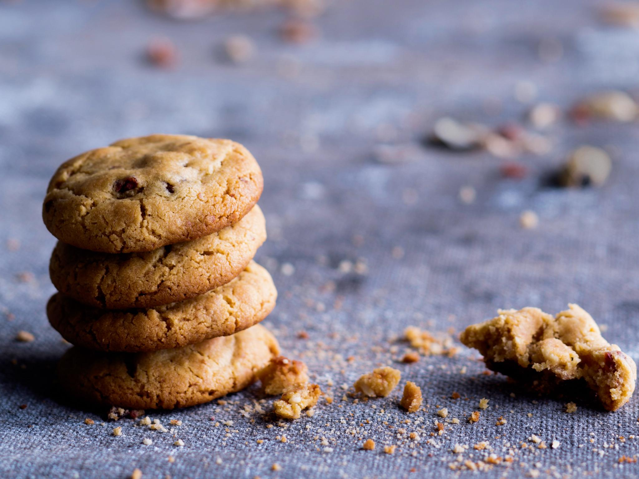 Kuva - Pähkinäcookiet