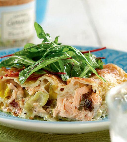 Kuva - Viikon ruokalista 3.4.-9.4.: Kalalasagne ja muita herkkuja viikon varrelle